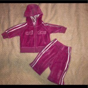 Baby Adidas sweat suit